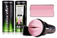 Мастурбатор «Fleshlight Pink Mouth» (гладкая текстура)